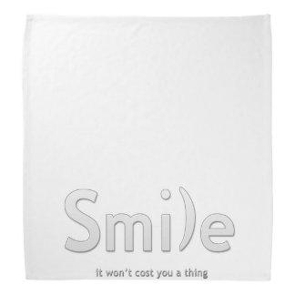 Smile Ascii Text Bandana