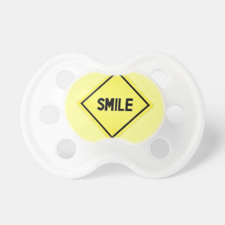 Smile at the Baby Road Sign BooginHead Pacifier