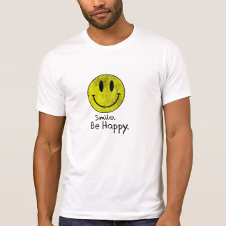 Smile Be Happy Face T-Shirt