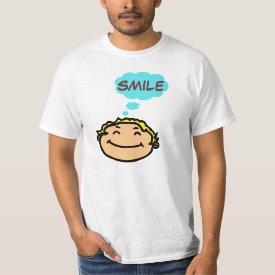 Smile Be Happy T-SHIRT