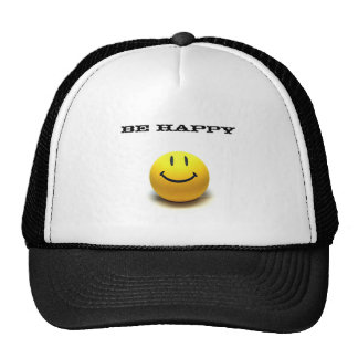 SMILE, Be Happy Trucker Hat