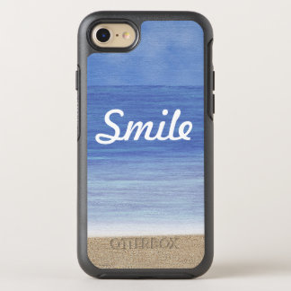Smile Beach Ocean OtterBox Symmetry iPhone 7 Case