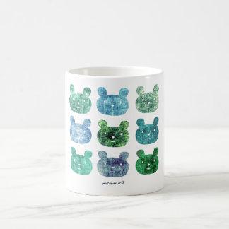 smile bear blues coffee mug