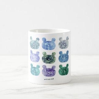 smile bear COOL light blue Coffee Mugs