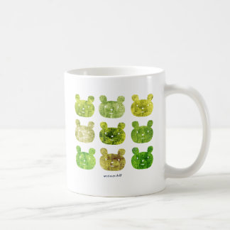 smile bear earth greens mugs