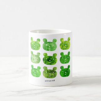 smile bear greens coffee mug