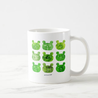 smile bear greens mugs