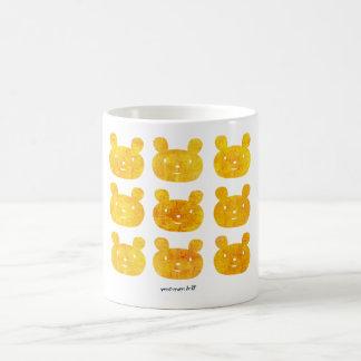 smile bear orange mugs