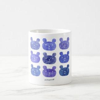 smile bear purple coffee mugs