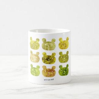 smile bear yellows coffee mug