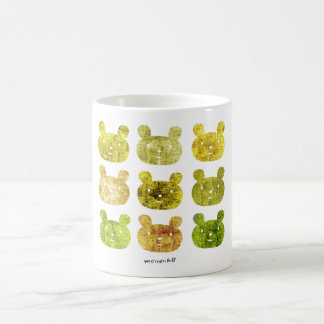 smile bear yellows mugs