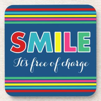 Smile! Beverage Coaster