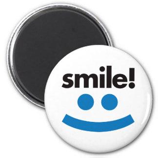 Smile - Blue Magnet