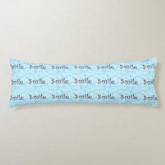 Smile-body pillow