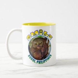 Smile Bohol Two-Tone Coffee Mug