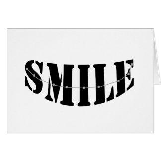 Smile Braces Greeting Card