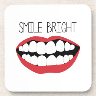 Smile Bright Drink Coaster