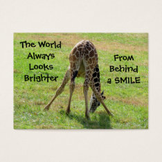 Smile Business Cards at Zazzle