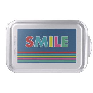 Smile! Cake Pan