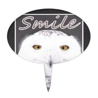 Smile Cake Topper