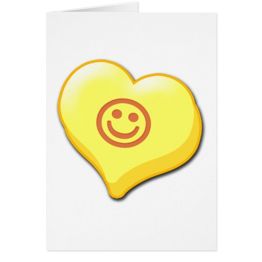 Smile Candy Heart Card