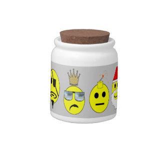 Smile Candy Jar