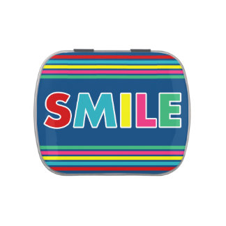 Smile! Candy Tin