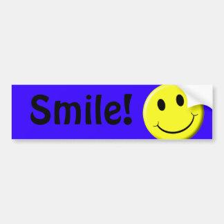 Smile! Car Bumper Sticker