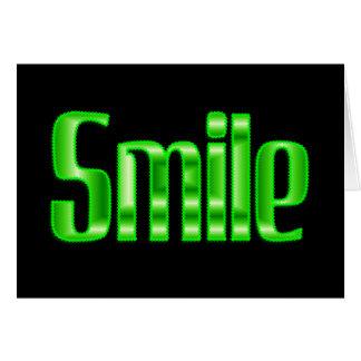 smile card