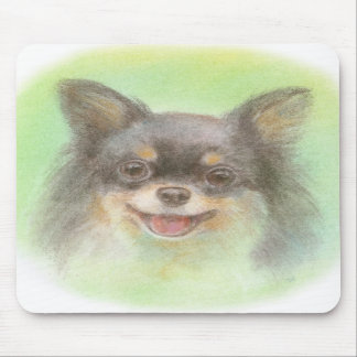 Smile chi wa cup mouse pad