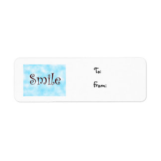 Smile-christmas label