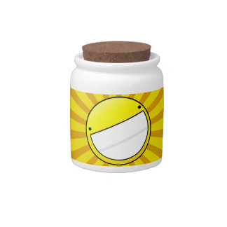 SMILE! - container Candy Jar