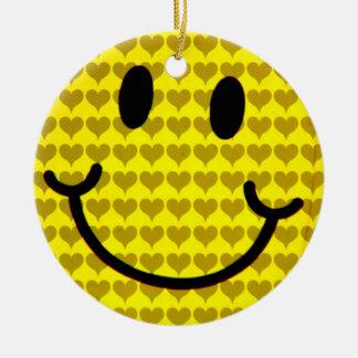 Smile_ Adorno Redondo De Cerámica
