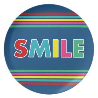 Smile! Dinner Plate