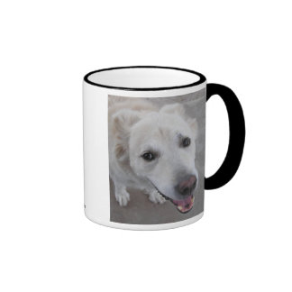 Smile DOG loves you Ringer Mug