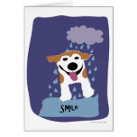 Smile Dog - Paw of Attraction Greeting Card