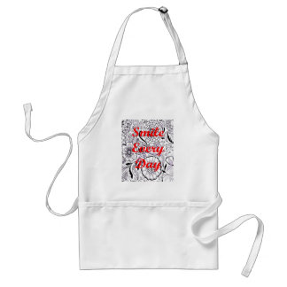 Smile Every Day Adult Apron