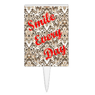 Smile Every Day Cake Topper