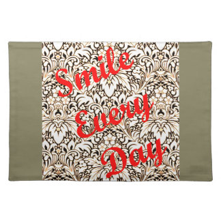 Smile Every Day Cloth Placemat