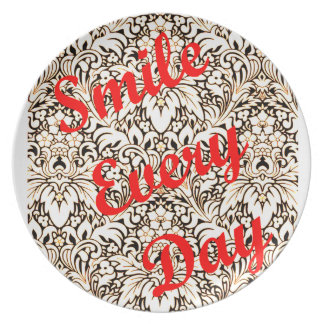 Smile Every Day Dinner Plate