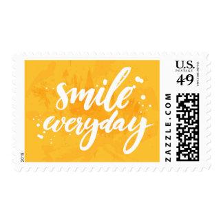 Smile Everyday Postage