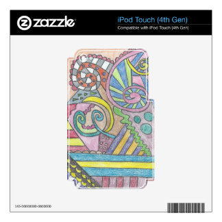 Smile Face Abstract iPod Touch (4th Gen) skin Skins For iPod Touch 4G