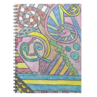 Smile Face Abstract Notebook