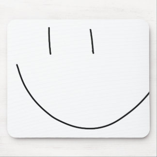 Smile Face Mouse Pad