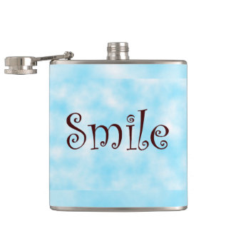 Smile-flask Hip Flask