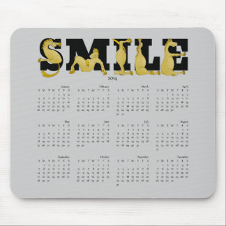 SMILE flexible pony calendar 2014 Mousepads