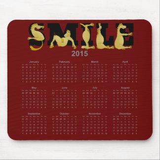 SMILE flexible pony calendar 2015 Mouse Pad