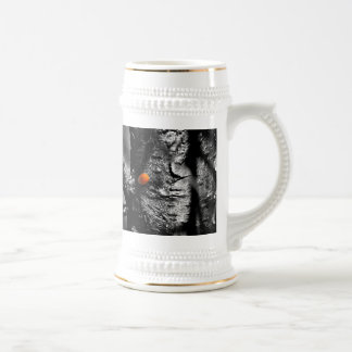 smile for a ladybug beer stein