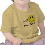 Smile For Food Tshirts