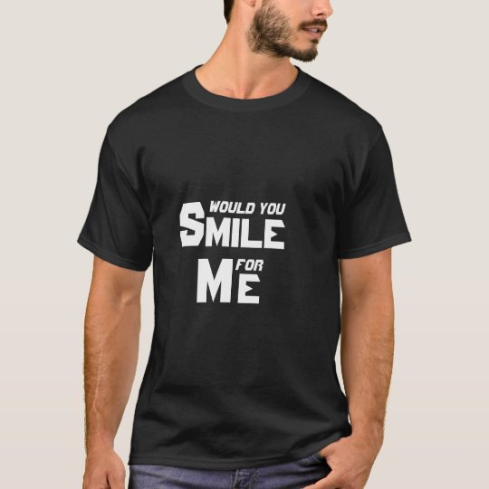 SMILE for ME 2 (Blk) T-Shirt